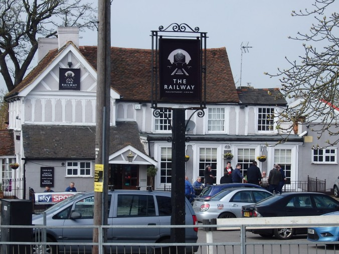 The Railway pub Witham