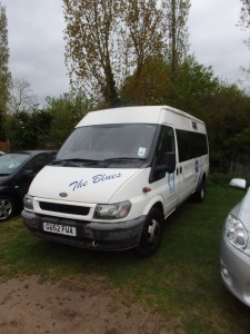 A Ford transit provides Haverhill Borough with a bus