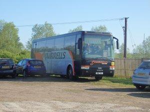 Stowmarket Town FC bus