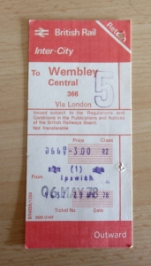 Ticket to Wembley