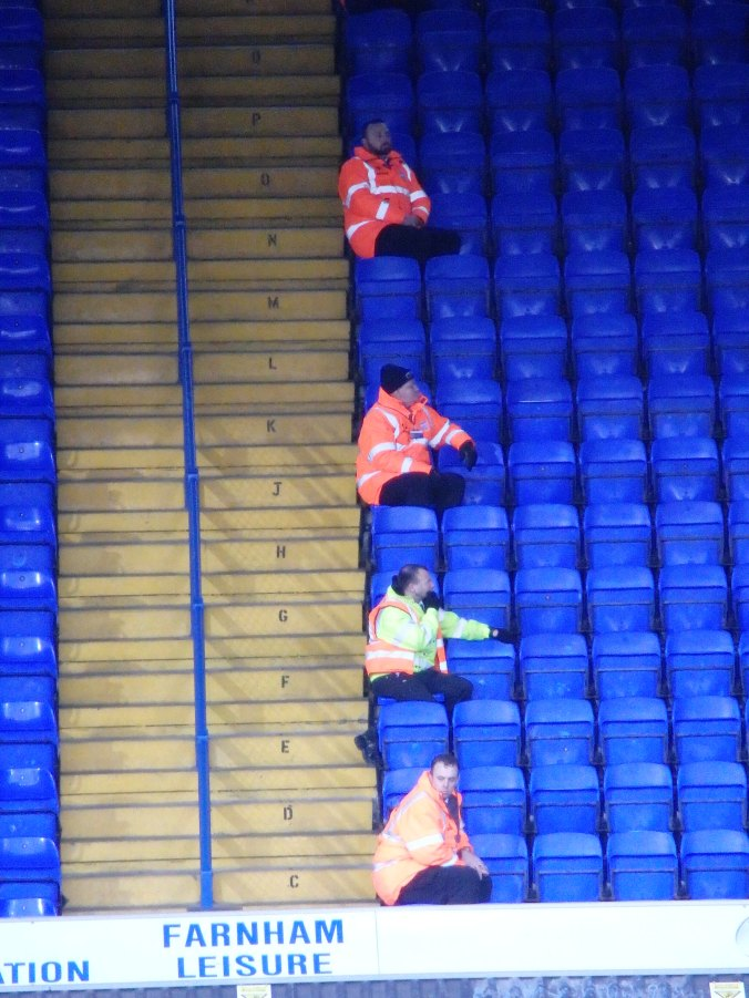 stewards ready for action?